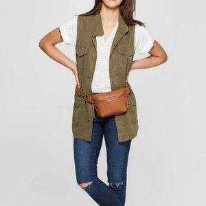 Women's Utility Military Sleeveless Vest Top XS